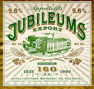 Appeltoffts Jubileums Export